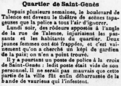 Poste de St Genès