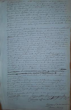 Détermination des sections ancêtres des comités de quartier