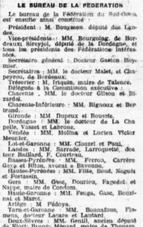 Fédération républicains de la Gironde