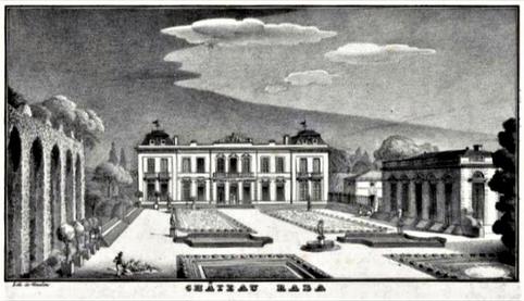 Lithographie du bordelais Cyprien Gaulon