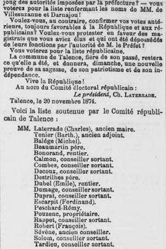 Candidature contre Ville-Suzanne