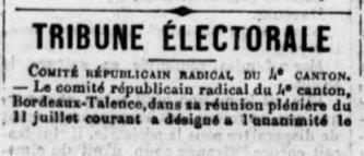 Comité Républicain Radical