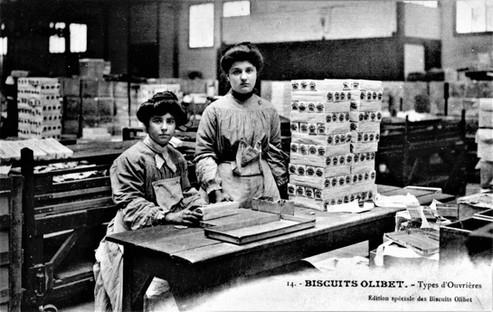 Biscuits Olibet 23 deux ouvrières