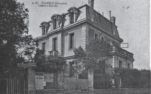 Château Bel Air ou Bellevue