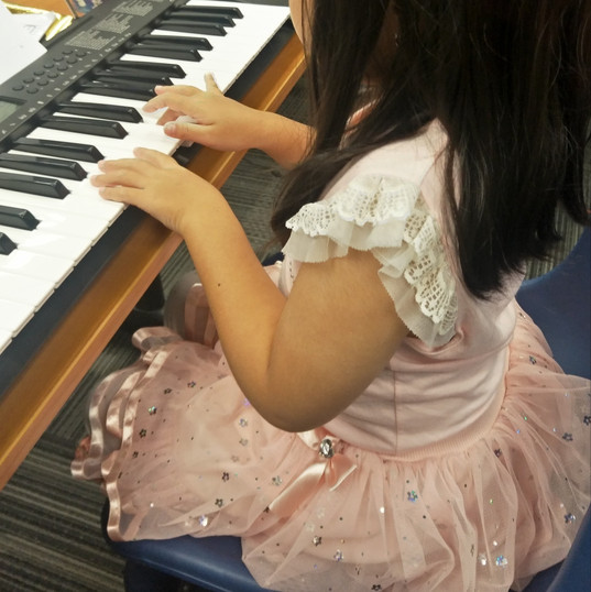 K2 children can start their music venture. Learning music at young has untold benefits!