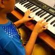 Children can amaze you ith good keyboard play.