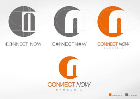CONNECT NOW CAMBODIA LOGO DESIGN