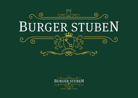 BURGER STUBEN LOGO DESIGN