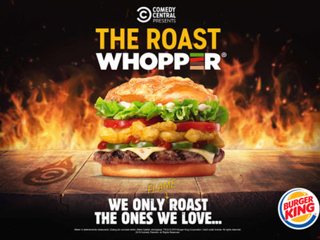 THE COMEDY CENTRAL ROAST OF ALI B X BURGER KING®
