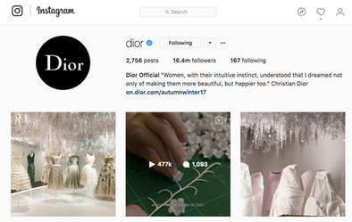 Dior and Louis Vuitton Are the Fashion Brands with Best Instagram Stories Engagement (BOF)