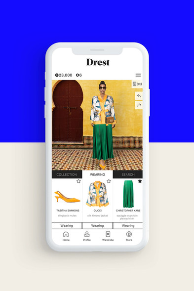 With Drest, Digital Clothing Is One Step Closer To Mainstream(Vogue Business)
