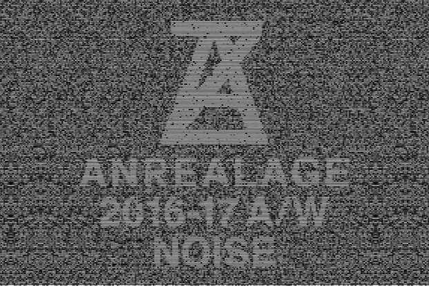 """Anrealage 2016-17 A/W collection """"Noice"""" Post"""