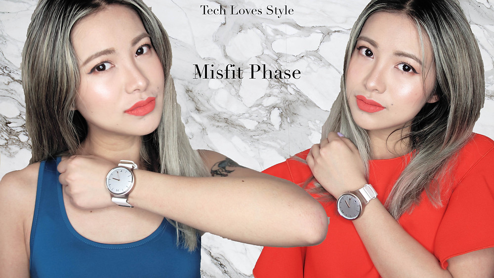 Misfit Phase Smartwatch review. Photo by Tech Loves Style