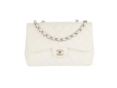 Vintage Chanel CLASSIC JUMBO SINGLE FLAP BAG
