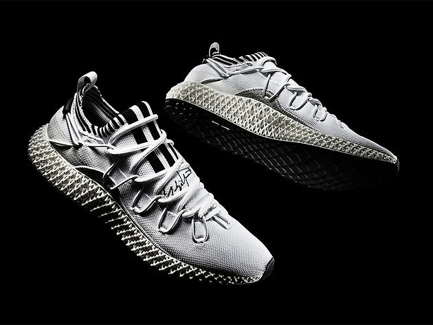 Y 3 RUNNER 4D II – Adidas Limited Edition 3D Printed Shoes