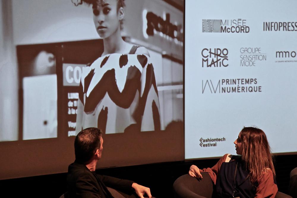 """Panel 2: """"Collaboration comme moteur créatif"""" en collaboration avec le Groupe Sensation Mode. Photo by FTF."""