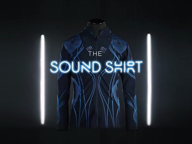 CuteCircuit's SoundShirt Has Been Shortlisted For The Dezeen Awards In The Wearables Category