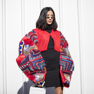 Virtual Fashion: The Digitally Generated Clothes Appearing On Your IG Influencer Feeds(ELLE)