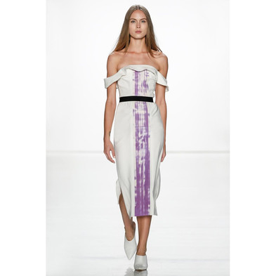Fashion Tech Runway: Julianna Bass S/S18-Explore The Color Changing Cocktail Dresses