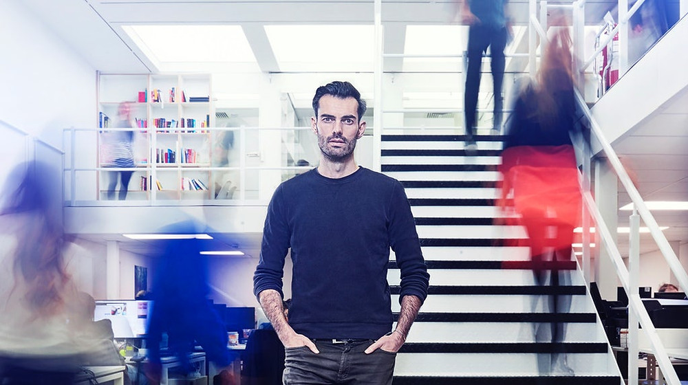 Lyst founder Chris Morton | Source: Charlie Surbey. Photo source from the Business of Fashion.