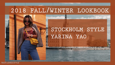 2018 Fall/Winter Lookbook & Stockholm Style