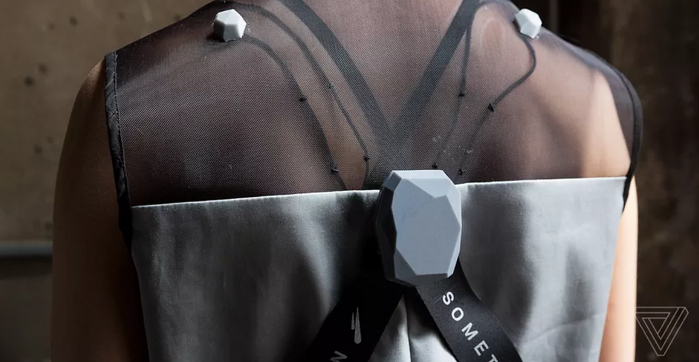 Wearable Media's Ceres jumpsuit. Photo by The Verge