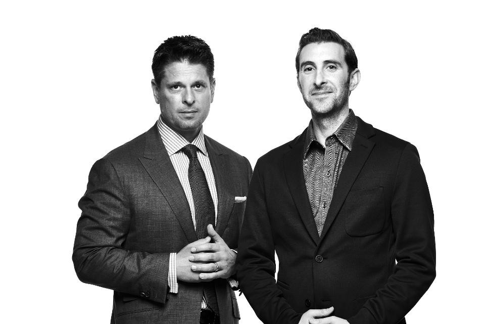 Don Ressler (l) and Adam Goldenberg (r), Co-Founders and Co-CEOs, TechStyle Fashion Group