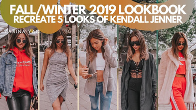 Fall/Winter 2019 Lookbook, Recreate 5 Looks Of Kendall Jenner