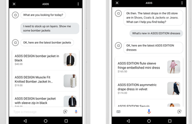 How Fashion Brands Are Experimenting With Google Technology(Glossy)