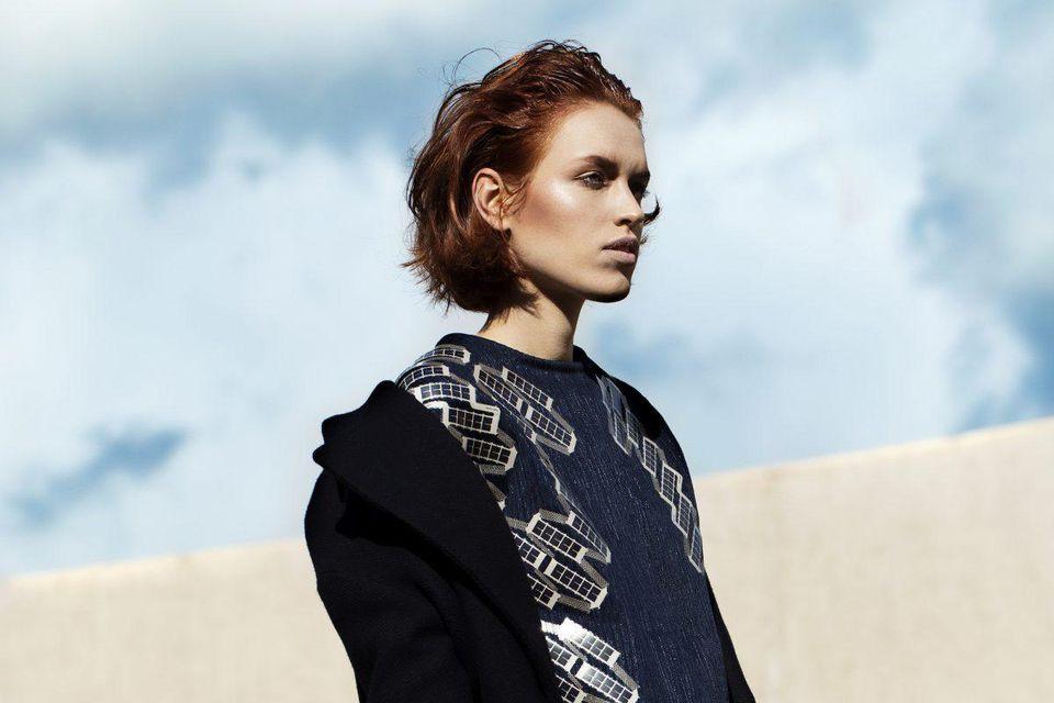 A Solar Shirt by Pauline Van Dongen. Photo courtesy of Lisolette Fleur.