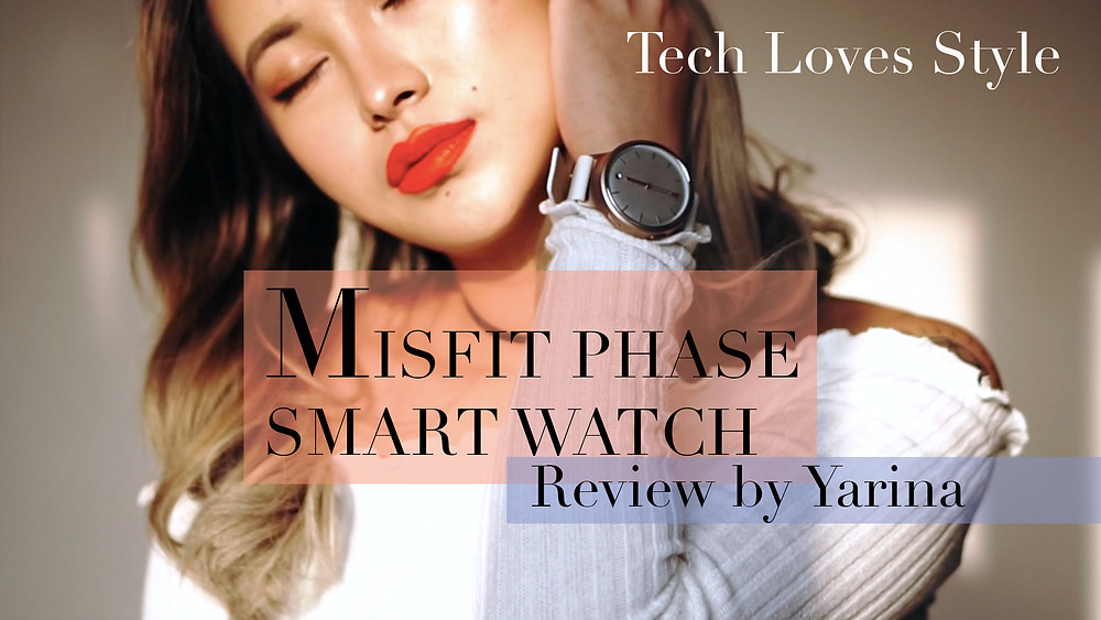 Misfit phase smartwatch review. Photo by Tech Loves Style.