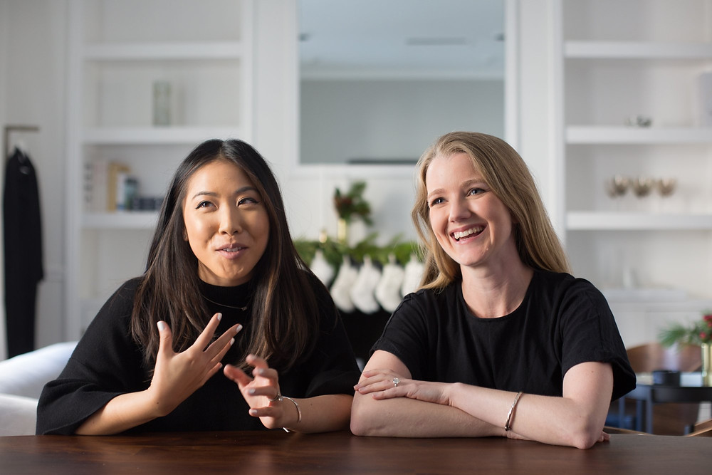 Jessica Lee and Lizzie Agnew are the cofounders of high-fashion e-commerce startup Modern Citizen.Melia Robinson/Business Insider