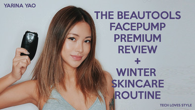 The Beautools Facepump Premium Face Massager Review+Winter Skincare Routine
