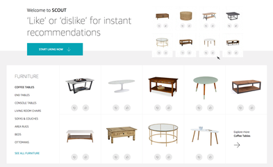 Amazon Launches Scout, A machine Learning-Powered Visual Shopping Tool(TechCrunch)