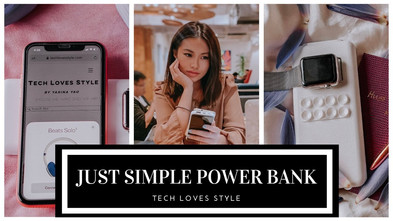 Never Run Out Of Power-Introducing The Just Simple Power Bank