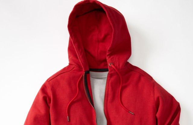 The American Giant hooded, zip-up sweatshirt.  Courtesy Photo
