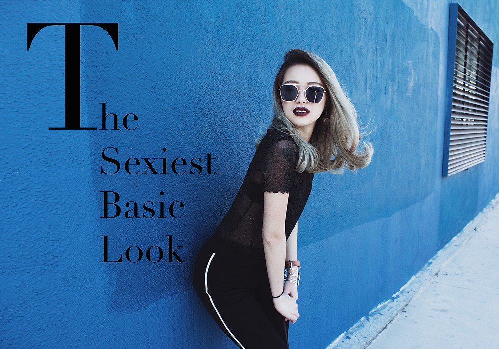 The sexiest basic look by TechLovesStyle. Photographer: Joanne Garcia