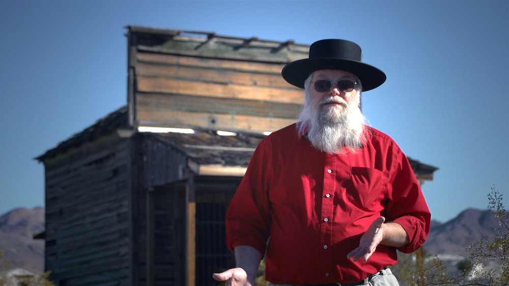"Mark Hall Patton in Motion Picture Video's Documentary Film ""Real Haunts: Ghost Towns"""