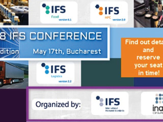 2018 IFS Conference, 5th edition, May 17th, Bucharest