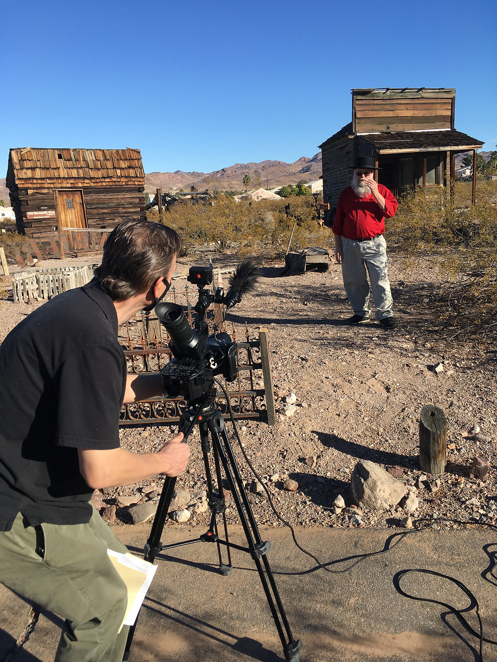 "Behind the Scenes of Motion Picture Video's Documentary Film ""Real Haunts: Ghost Towns"" with Mark Hall Patton"