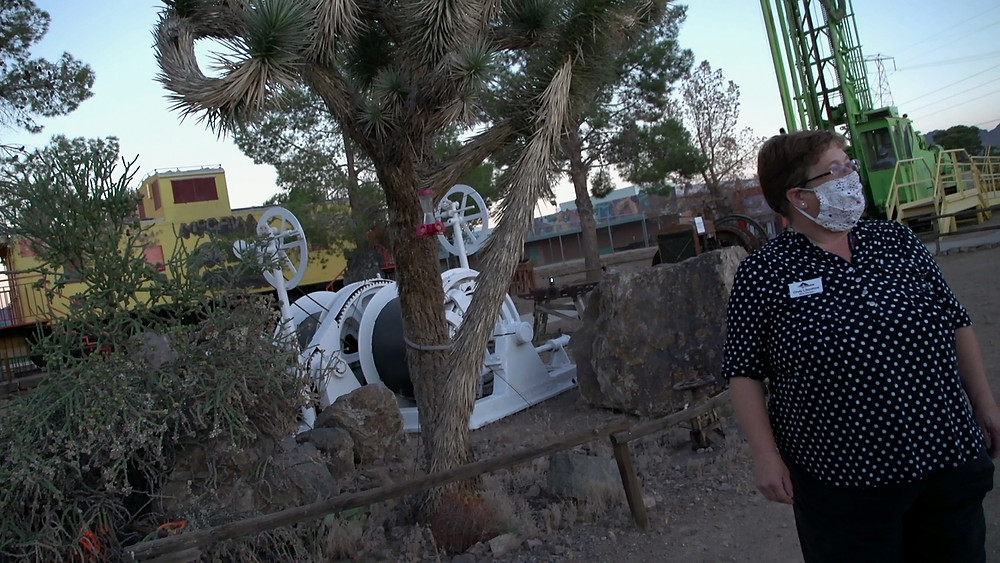 REAL HAUNTS: GHOST TOWNS takes you to the Area 51 Graveyard in Las Vegas, Nevada