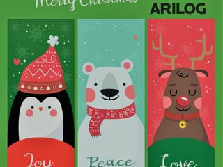 Joy, peace & love. Merry Christmas!