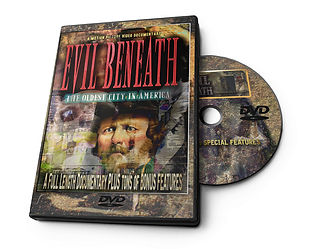 Evil Beneath DVD, Amazon, Film, St. Augustine, Documentary, Haunted