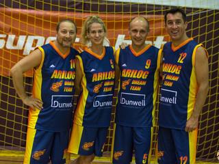 ARILOG Dream Team - campionatul de baschet al companiilor