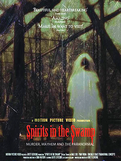 Spirits iin the Swamp, Poster, Documetnary, Motion Picture Video, Amazon, Brett Gerking, Bellamy Bridge, Dale Cox