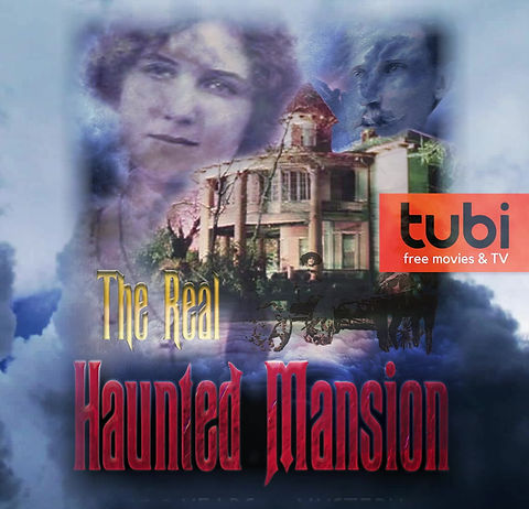 The Real Haunted Mansion, trailer, Tubi, tv, documentary, film, haunted house, paranormal, ECPC, Russ House, Marianna, Florida