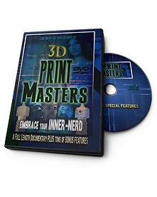3d print masters, dvd, amazon, documentary, 3d printing
