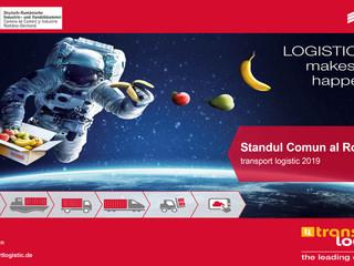 Standul României în cadrul Târgului de Transport și Logistică de la Munchen, ediția 2019