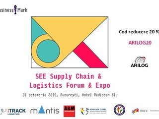 SEE Supply Chain & Logistics Forum & Expo - 31 octombrie 2019, Hotel Radisson Blu, București