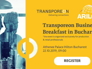Transporeon Business Breakfast - 22 octombrie 2019